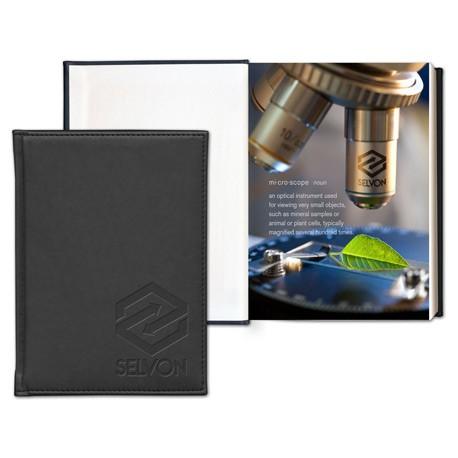 Pedova Graphic Page Deboss Plus Bound JournalBook™